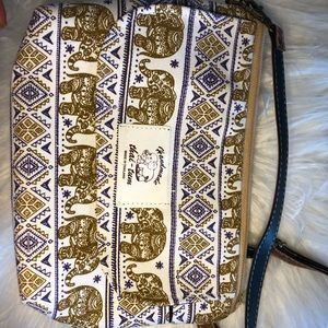 Elephant bag bought in Thailand